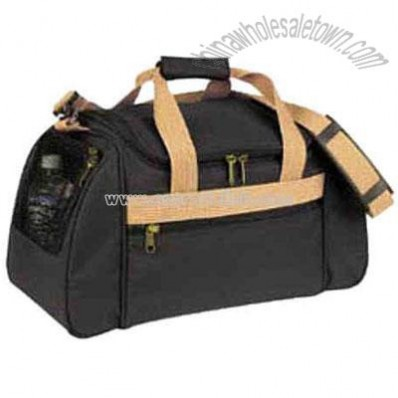 Polyester With Heavy Vinyl Backing Sports Bag