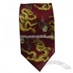 Polyester printed tie