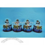 Polyresin Christmas Water Globe
