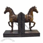 Polyresin Craft/Horse Bookend for Home Decorations