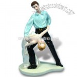 Polyresin Dancer Polyresin Dancer Suitable for Wedding and Holiday Gifts