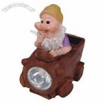 Polyresin Figurine Solar Light