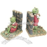 Polyresin Frog Bookends Craft