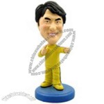 Polyresin Karate Bobblehead