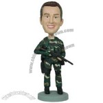 Polyresin Navy Seal Bobblehead