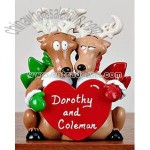 Polyresin Reindeer Table Topper Gifts