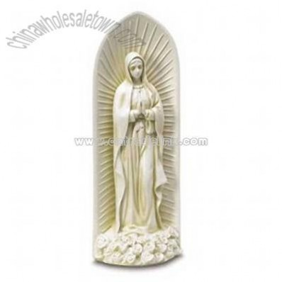 Polyresin Virgin Mary Figurine