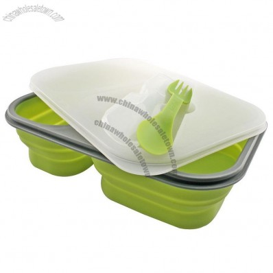 Pop N Go Collapsible Silicone Meal Box