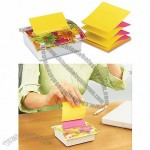 Pop-up Notes Pop-up Note Dispenser with Designer Daisy Insert, One 45-Sheet Pad