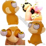 Poppin Peepers Monkey Squeeze Eyes Pop Out Toy