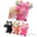 Poppin Peepers Pig Squeeze Toy
