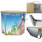 Popular Aluminum Promotional Counter