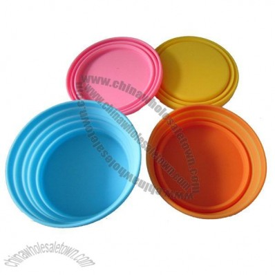 Popular Collapsible Silicone Bowl