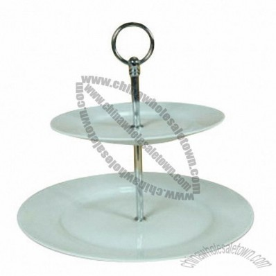 Porcelain Cake Stand, High Porcelain