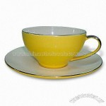 Porcelain Cup and Saucer Set