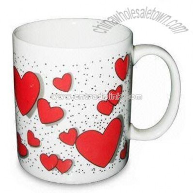 Porcelain Heart Mug