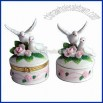 Porcelain Jewlery Box Ideal for Wedding and Valentine Gift