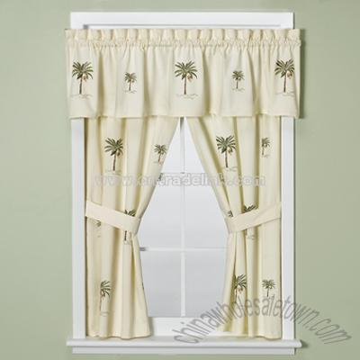 Palm Tree Curtains in Other Home & Garden, Shower Curtains, or