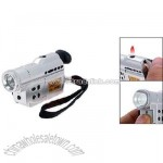 Portable Camera LED Torch Cigarette Lighter
