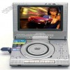Portable DVD Player with 7 inch Screen and TV