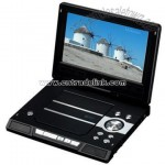 Portable DVD Player with 9.2 inch Swivel Screen with TV