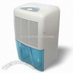 Portable Dehumidifier with Color-changeable Water Tank and 2.5L Capacity