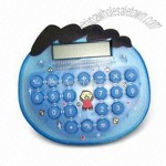 Portable Desktop Calculator with Big Key-press