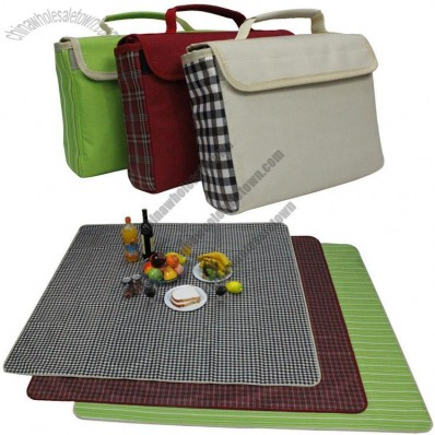 Portable Double Waterproof Fabric Picnic Mat
