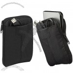 Portable Hard Drive Case - Dobby Nylon - Black