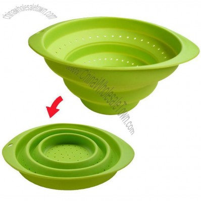 Portable High-Quality Soft Foldable Silicone Bowl