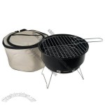 Portable Mini BBQ Grill Set with Travel Bag