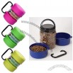 Portable PET Food Tote/Pet Food Container