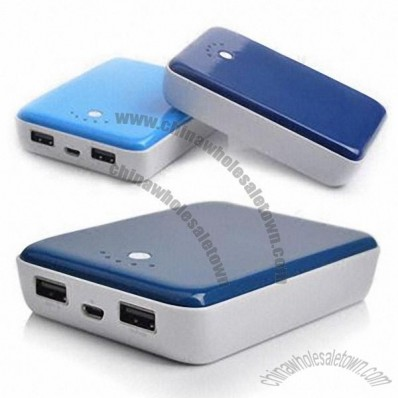 Portable Power Banks for iPhone/iPad/MP3/MP4 Players/GPS with 10,400mAh Capacity