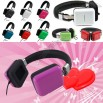 Portable Quadrate Stereo Headphones / Square Headset