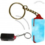 Portable Self Inking Stamps, Handy Pocket Stamp with Keychain