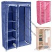 Portable Shelved Wardrobe