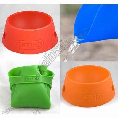 Portable Silicone Foldable Pet Bowl