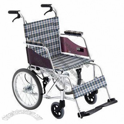 Portable Stainless Steel Manual Wheelchair