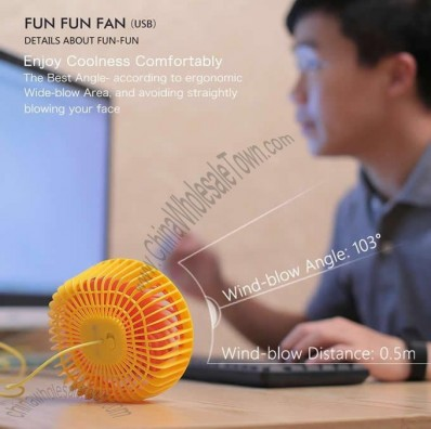 Portable USB Desktop Cooling Fan