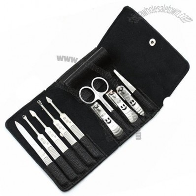 Portable Wallet Style Men Use Manicure Set