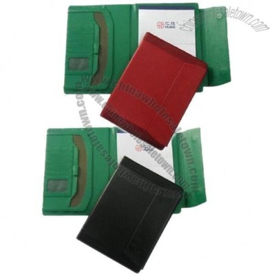 Portfolios with Card Slots, Pen Loop, Document Pocket, A4 Notepad, Hidden Magnet Closure