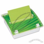 Post-it Z-Note Dispenser Acrylic with 8 Pads Changeable Insert