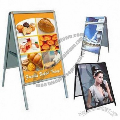 Poster Display Frame for Indoor and Outdoor Use, Display Stand Poster Board Frame