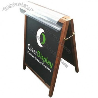 Poster Holder Chalk Board