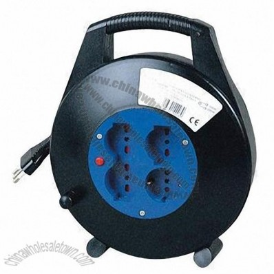 Power Cable Reels with Black Color