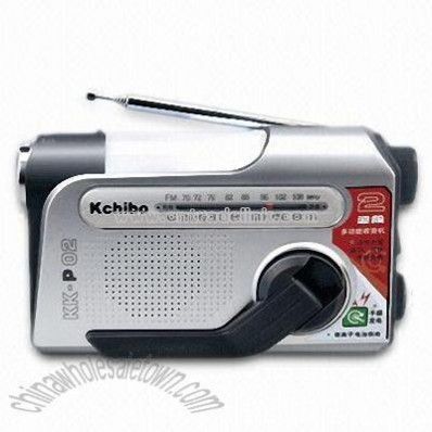 Power Handle Multi-Function Radio