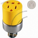 Power Socket Receptacle with 15A Current and 250V Voltage