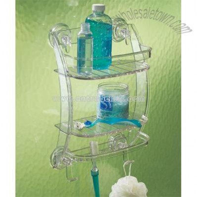 Powerlock Suction Shower Organizer