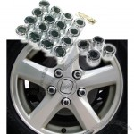 Premium Accent Wheel Nut Cap