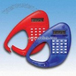 Premium Clip-on Carabiner Calculator with Eight-digit Display